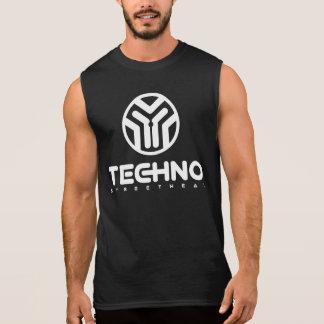Techno Streetwear - logotipo - camisa sem mangas