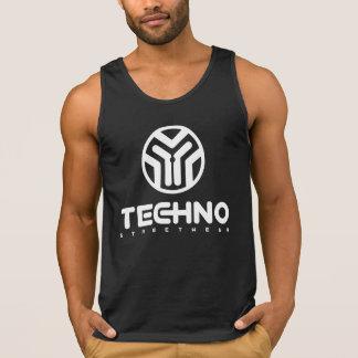 Techno Streetwear - logotipo - camisola de alças