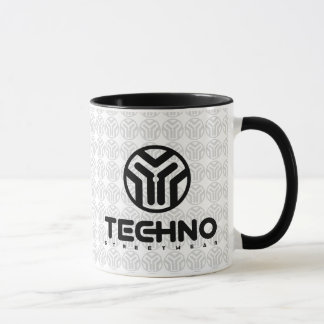 Techno Streetwear - logotipo - caneca
