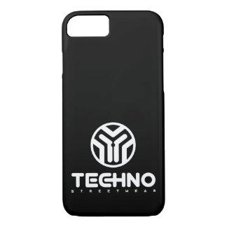 Techno Streetwear - logotipo - capa de telefone