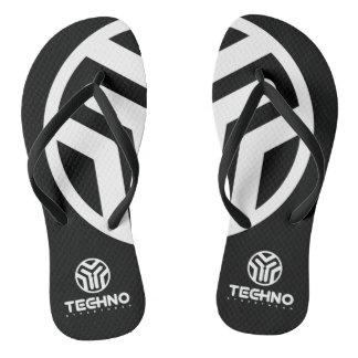 Techno Streetwear - logotipo - chinelos