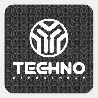 Techno Streetwear - logotipo - etiquetas