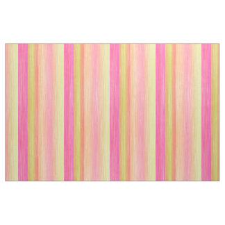 Tecido A aguarela cor-de-rosa brilhante do amarelo do