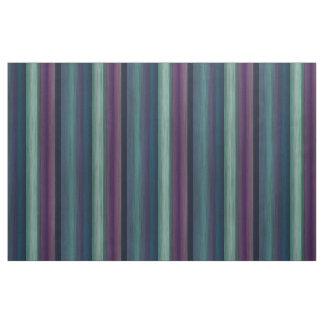 Tecido A aguarela roxa do verde azul da cerceta listra o