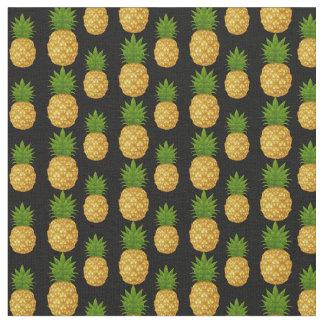 Tecido Abacaxi Tecido-Tropical feito sob encomenda