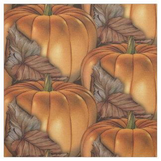 Tecido Abóbora de outono o Dia das Bruxas