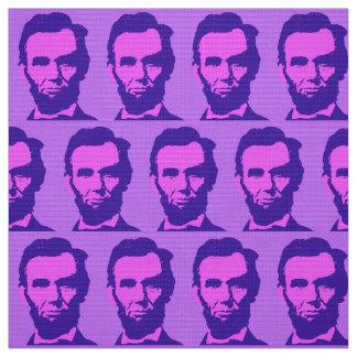 Tecido Abraham Lincoln no rosa & no roxo