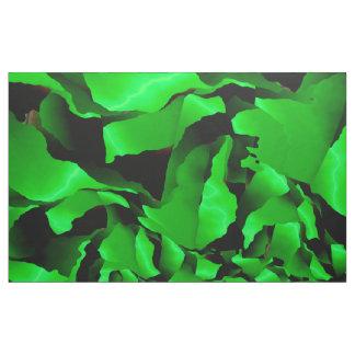 Tecido Abstracção desgastada verde
