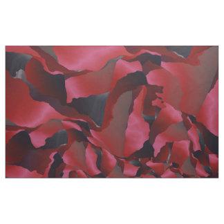 Tecido Abstracção desgastada vermelho