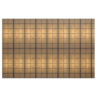 Tecido abstrato iluminado geométrico dos quadrados