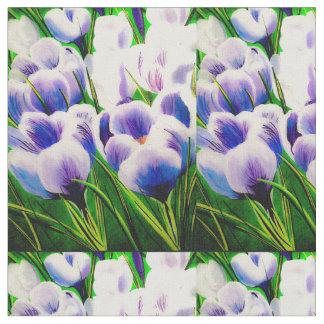 Tecido Açafrão violeta