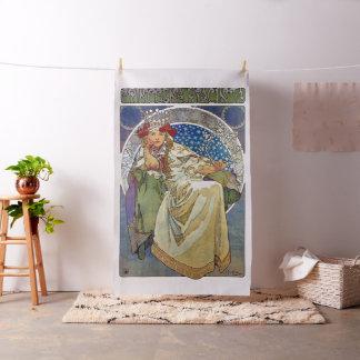 Tecido Alfons Mucha Princezna 1911 Hyacinta