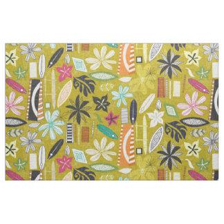 Tecido amarelo beachy