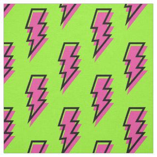 Tecido anos 80/teste padrão verde dos anos 90 &