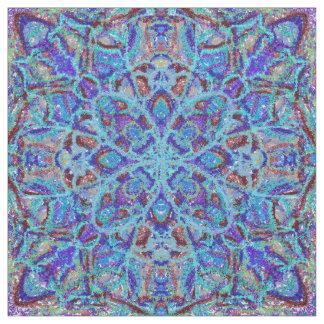 Tecido arabesque colorido Boho-romântico do ornamento da