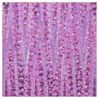Tecido As listras e os pontos do cetim abstraem, roxo