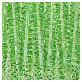 Tecido As listras e os pontos do cetim abstraem, verde