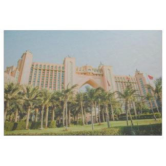 Tecido Atlantis a palma, Abu Dhabi