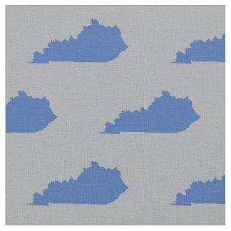 Tecido Azul do teste padrão do estado de Kentucky em