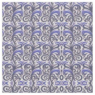 Tecido azul elegante do Verdure