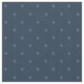 Tecido azul Spangled do teste padrão da união