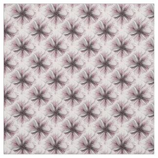 Tecido Azulejo pequeno das pétalas cor-de-rosa macias