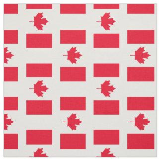 Tecido Bandeira clássica de Canadá