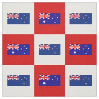 Tecido Bandeira de Austrália, bandeira de Nova Zelândia