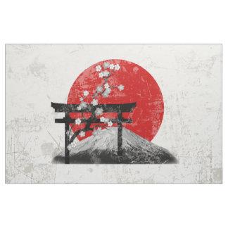Tecido Bandeira e símbolos de Japão ID153