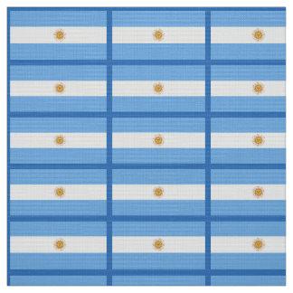 Tecido Bandeira tradicional de Argentina