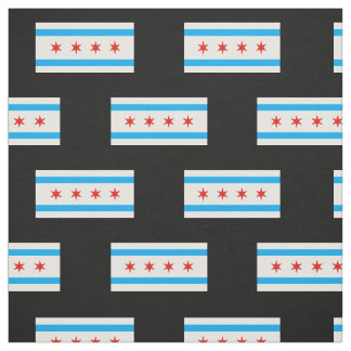Tecido Bandeira tradicional de Chicago