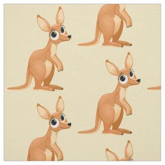 Tecido bonito do canguru