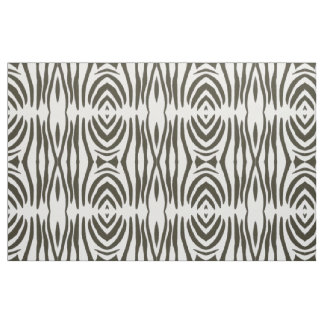 Tecido branco preto abstrato do impressão das