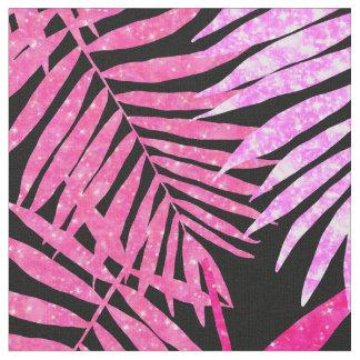 Tecido Brilho cor-de-rosa do falso da folha da palmeira