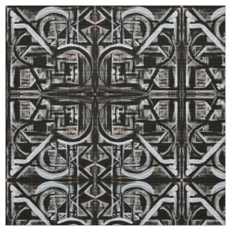 Tecido Brushstrokes abstratos pintados Bungalow-Mão