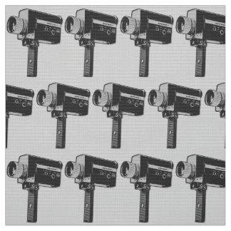 Tecido Câmera de filme 8 super do pop art