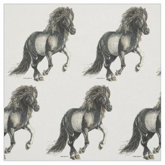 Tecido Cavalo   do islandês de Brana