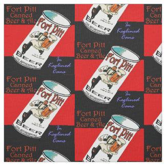 Tecido Cerveja de Pitt do forte