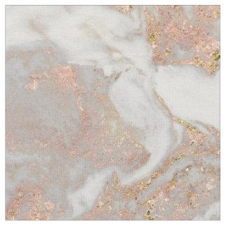 Tecido Chique cor-de-rosa do redemoinho do mármore do