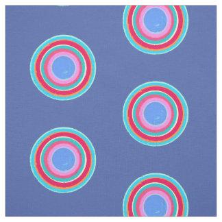 Tecido Círculos multicoloridos