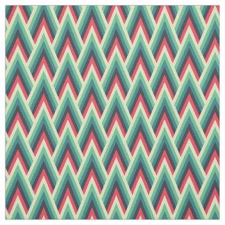 Tecido colorido das vigas