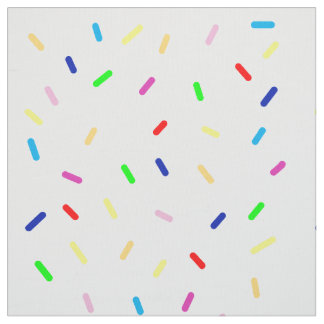 Tecido colorido polvilha