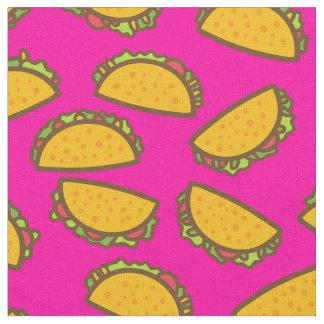 tecido cor-de-rosa do tacos
