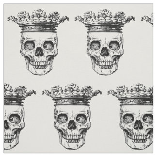 Tecido coroado do impressão das cabeças