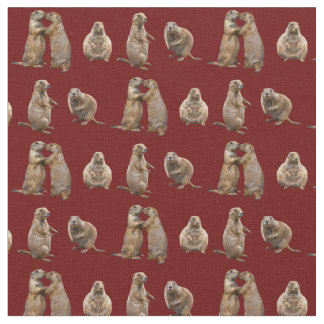 Tecido da agitação do cão de pradaria (Borgonha)