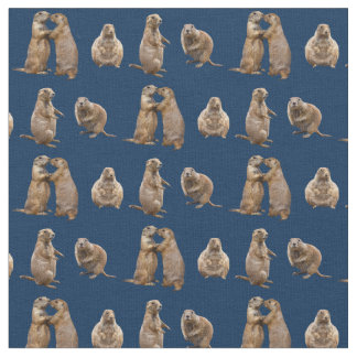 Tecido da agitação do cão de pradaria (marinho)