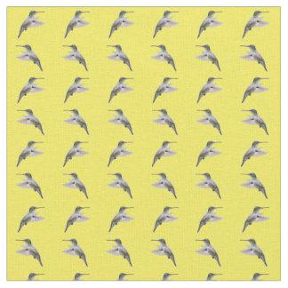 Tecido da agitação do colibri (amarelo)