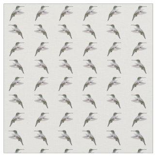 Tecido da agitação do colibri (escolha a cor)