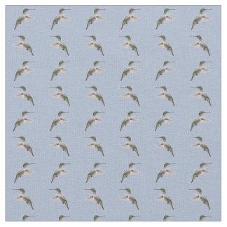 Tecido da agitação do colibri (luz - azul)