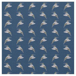Tecido da agitação do colibri (marinho)